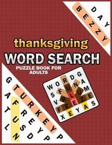 Thanksgiving Word Search Puzzle Books For Adults