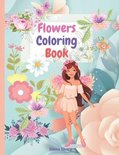 Flowers Coloring Book
