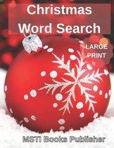Christmas Word Search Large Print
