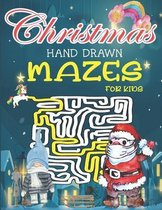 Christmas Hand Drawn Mazes For Kids