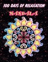 100 days of relaxation mandala