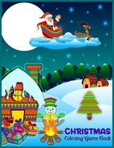 CHRISTMAS Coloring Game Book
