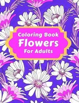 Coloring Book Flowers For Adults