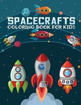 Spacecrafts coloring book for kids