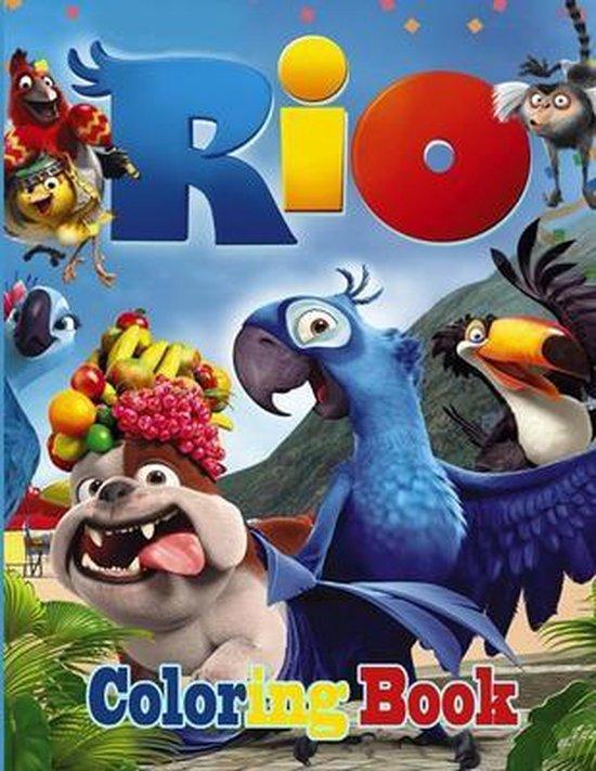 Rio Coloring Book