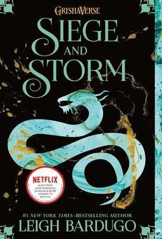 Boek cover Siege and Storm van Leigh Bardugo