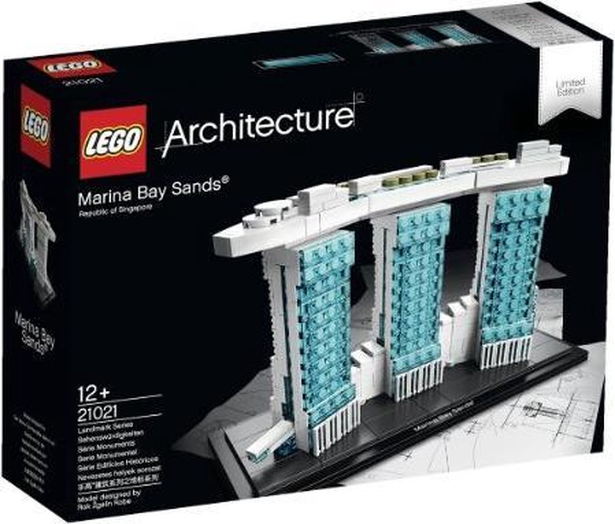 21021 LEGO Architecture Marina Bay Sands