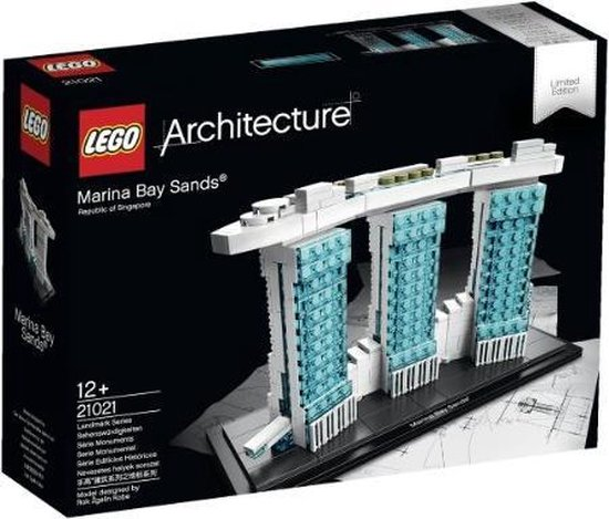 21021 LEGO Architecture Marina Bay Sands
