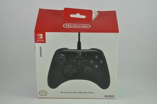 Hori Nintendo Gaming Pro Controller - Switch - Zwart
