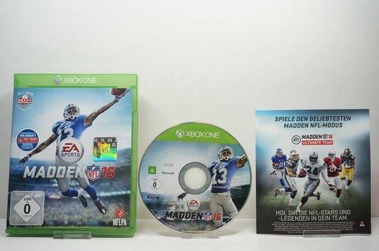 Madden NFL 16 – DE – Xbox One