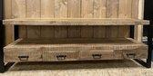 Tv kast Britt - 4 lades - 180x45x60 cm - mangohout