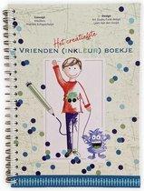 Inkollors - Invulboek - Het creatiefste invul en inkleur vriendenboekje - Jongens - A5 - ringband - hardcover - vriendenboek - vriendenboekjes
