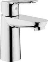 GROHE BauEdge Wastafelkraan - koud en warm water - zonder waste - chroom - 23330000