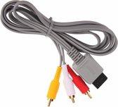 AV Kabel / TV Kabel met scart adapter voor de Nintendo Wii, mini Wii en Wii U