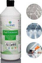 ProfiBright Zakelijk - Laminaatreiniger Profi6 PH Neutraal - Universele vloerreiniger - Parket - PVC - Natuursteen - Concentraat - HACCP - DIerproefvrij -1 liter