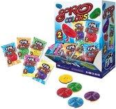 Twee kleurige jojo snoep- Fini Spiro colours- 150 stuks- jojo's- verjaardag cadeau-traktatie-uitdeel cadeau