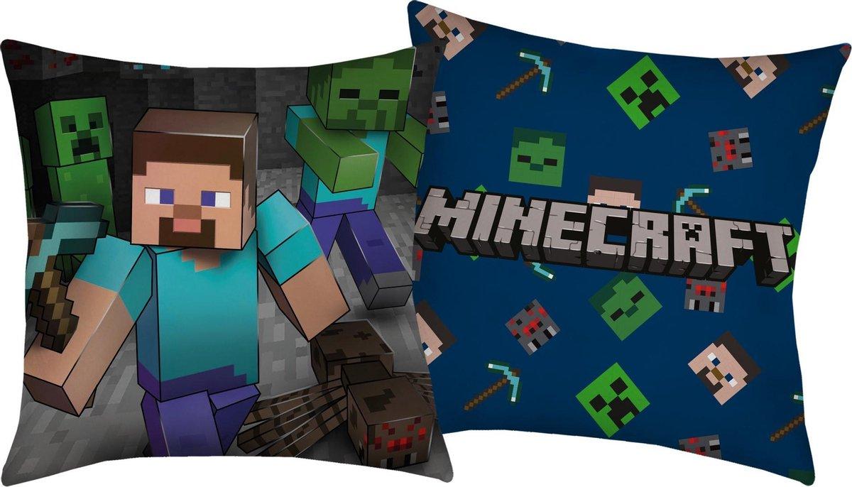Minecraft Kussen Cave - 40 x 40 cm - Polyester