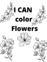 I CAN color Flowers