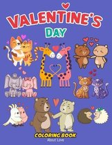 Valentine's Day Coloring Book About Love