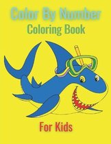 Color By Number Coloring Book For Kids