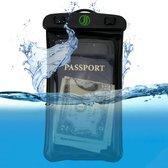 Jaunti | Waterdichte telefoonhoesje | Onderwater hoesje telefoon | Waterdicht hoesje telefoon | Waterbestendige telefoonhoesje | Volledig waterdicht | Waterdicht zakje | Waterproof Case Pouch Bag| Universeel |Max Variant