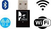 USB Wifi adapter dongle 2 in 1 Wifi + Bluetooth   2020 Model 5Ghz Dongel 600 MBps Draadloos Internet Snel