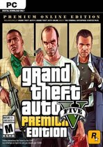 Grand Theft Auto V (GTA 5) - Windows - Premium Online Edition - Digitale Code PC
