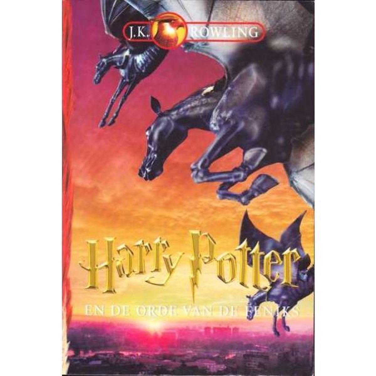 Bol Com Harry Potter 5 Harry Potter En De Orde Van De Feniks J K Rowling 9789061697008