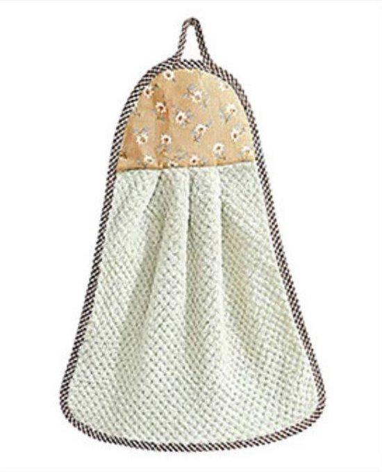 2 Stuks Groene En Roze Zachte Handdoek - Absorberende Doek - Vaatdoek - Microvezel Handdoek - Kleine Handdoek Voor Keuken En/Of Badkamer