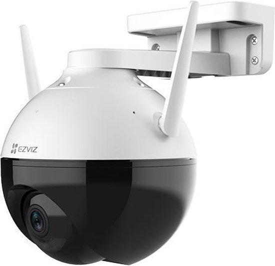 Ezviz C8C Full HD WiFi Buiten Dome (360) camera met kleurnachtzicht - Zwart
