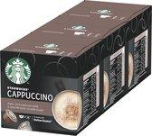 Starbucks by Dolce Gusto capsules Cappuccino - 36 koffiecups - geschikt voor 18 koppen koffie