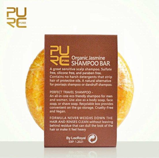 Pakket 7 Organic Shampoo Bars 60g - vegan en geen chemicaliën