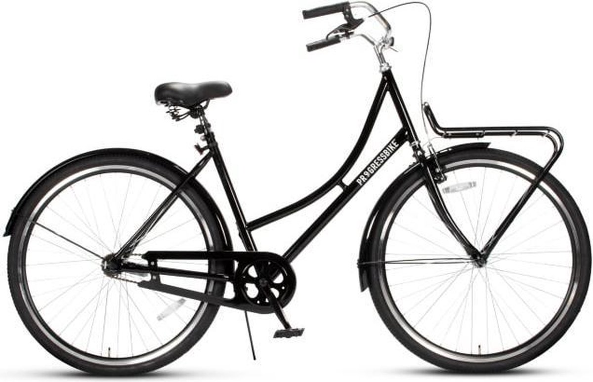 Progress Bike Stadsfiets V 28 inch 56 cm Zwart