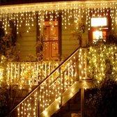 MYA LED Kerstverlichting Gordijn - Ijspegel - Warm