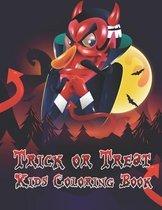 Trick Or Treat Kids Coloring Book