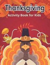Thanksgiving Activity Books for Kids