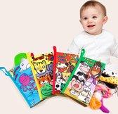 Rainforest tails boekje-baby/peuterboek- educatief- dieren- boekjes