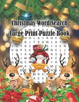 Christmas Word Search Large Print Puzzle Book