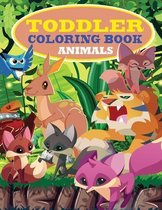 Toddler Coloring Book: Animal Coloring Pages That Are Perfect for Beginners