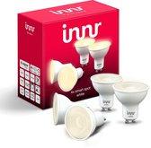Innr Slimme verlichting GU10 White - RS 226 single lens (Zigbee 3.0) - 4 pack