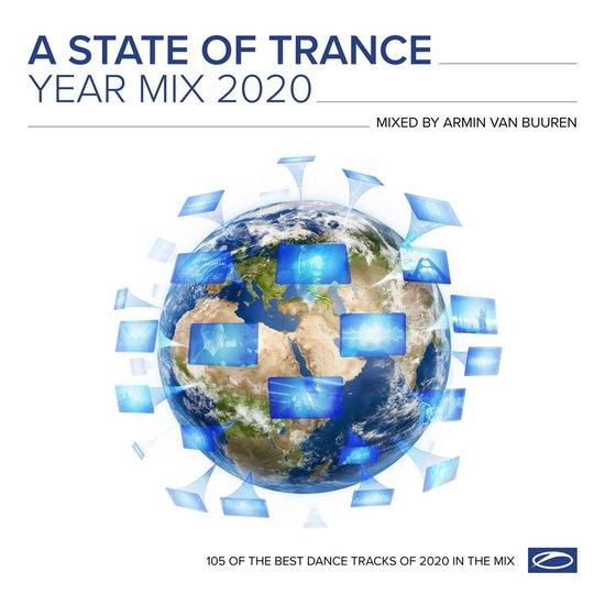 CD cover van A State Of Trance Year Mix 2020 van Armin Van - Various Artists Buur