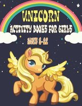 Unicorn Activity Book for Girls Ages 8-12