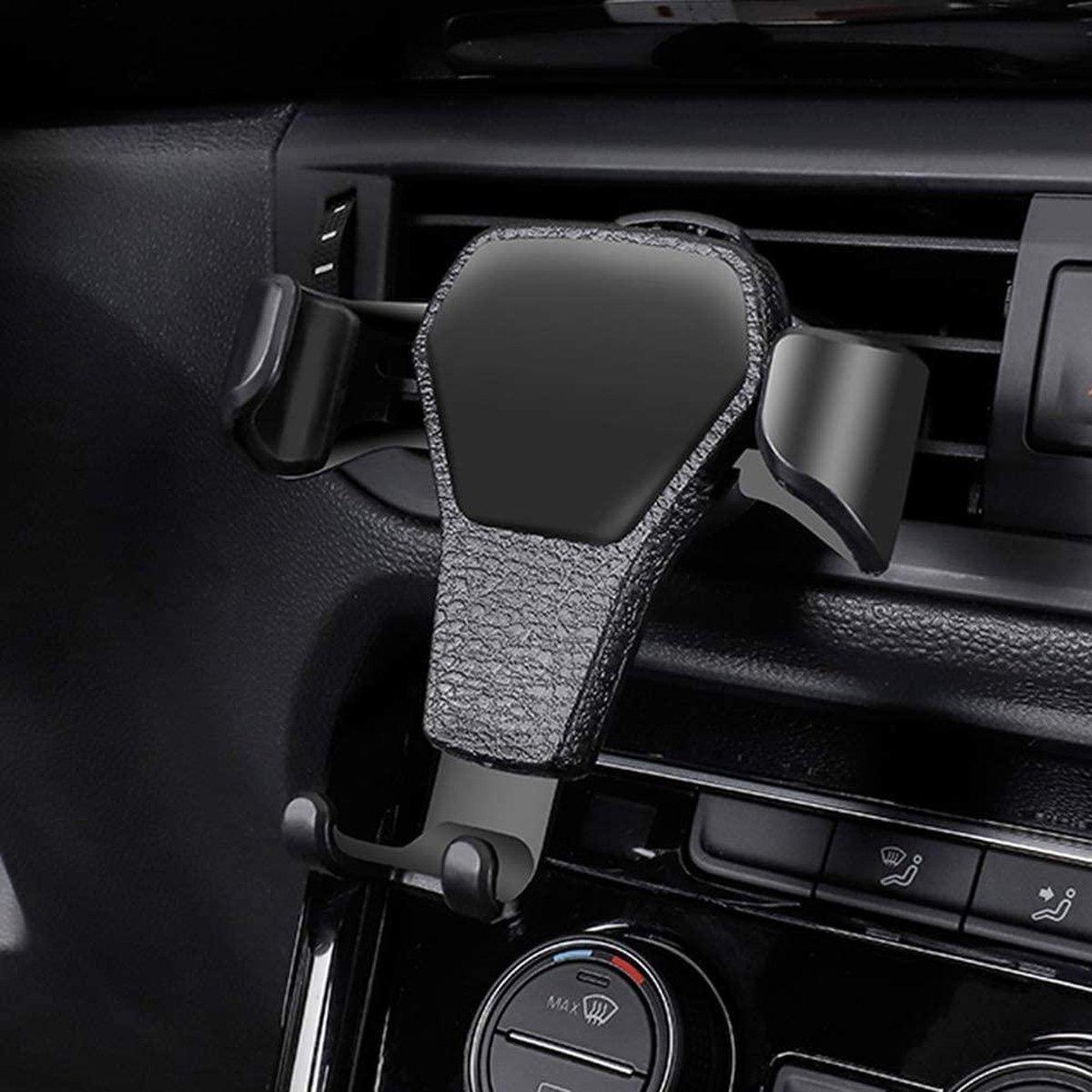 Auto Mobiele Telefoon Houder/Telefoonhouder Auto/ Zwart/Houder Voor Samsung iphone / Telefoon In Aut