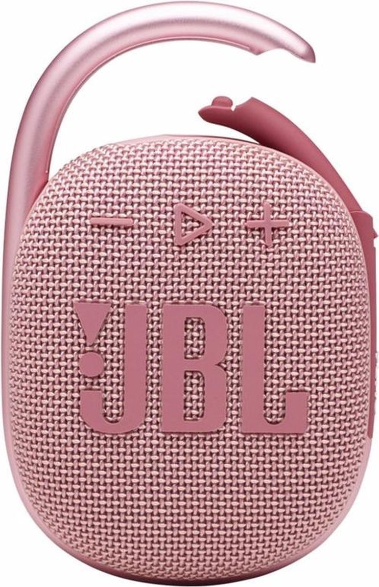 JBL Clip 4 Roze - Draagbare Bluetooth Mini Speaker