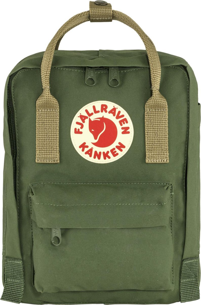 Fjallraven Kanken Mini Rugzak 7 liter - Spruce Green / Clay