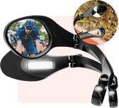 Fietsspiegel - Fietsspiegel eBike - 360 Graden Verstelbaar - Links - Fietsspiegel op stuur - Fiets Spiegel - Achteruitkijksspiegel