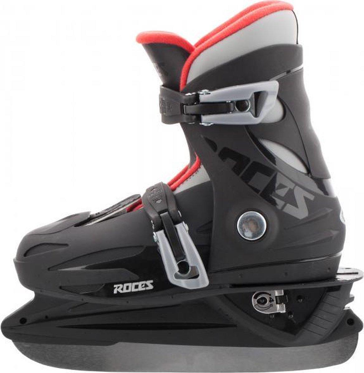 Roces MCK ll IJshockeyschaats Jr - Verstelbaar - Maat 25-28 - Zwart
