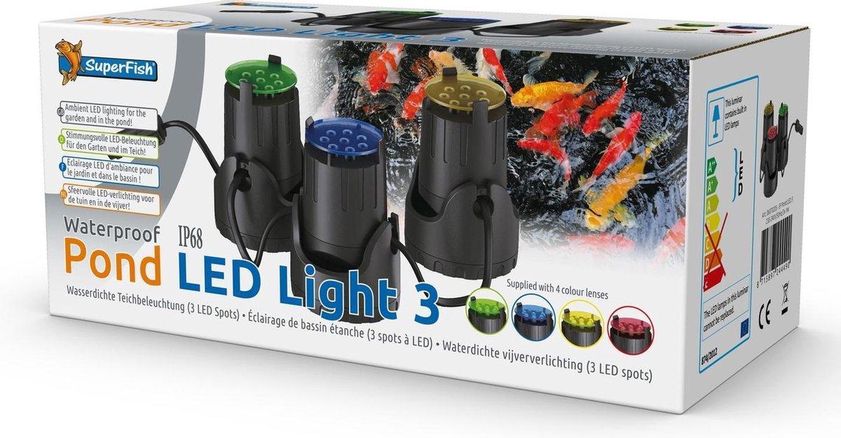 Superfish Vijver Led Light 3x