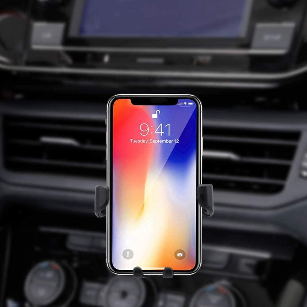 Smartphone mobile car phone holder-Universele telefoon houder voor in de auto(ventilatie rooster) -