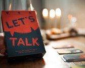 Let's Talk familiespel Feestdagen-editie: December Edition een vragenkaartspel voor familie & vrienden - Spelletjes voor kinderen en volwassenen